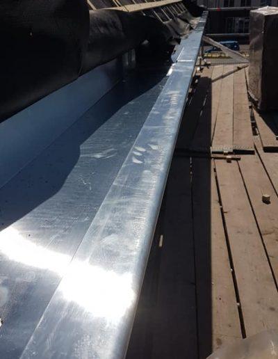 Vervangen dakgoten door zink